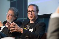 "13 JUN 2012, BERLIN/GERMANY:<br /> Markus Beckedahl, Vorsitzender, Digitale Gesellschaft e.V.<br /> Diskussionsveranstaltung ""Neue Prespektiven im Urheberrecht"", Verband Privater Rundfunk und Telemedien e.V., vprt, Bertelsmann-Repräsentanz<br /> IMAGE: 20120613-01-175"