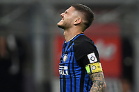 Mauro Icardi Inter delusione dejection <br /> Milano 28-04-2018 Stadio Giuseppe Meazza in San Siro Football Calcio Serie A 2017/2018 Inter - Juventus Foto Andrea Staccioli / Insidefoto
