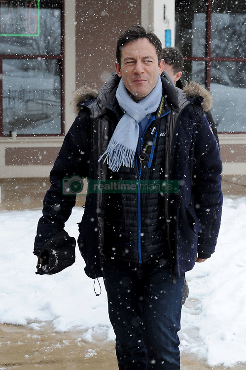 EXCLUSIVE: Jason Isaacs looks to be enjoying the snow at the Sundance Film Festival. Jason was seen putting his arms out to catch snowflakes as he attended the 2017 Festival in Park City. 26 Jan 2017 Pictured: Jason Isaacs. Photo credit: Atlantic Images / MEGA TheMegaAgency.com +1 888 505 6342