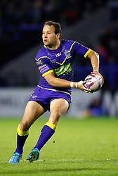 Warrington Wolves' Tyrone Roberts in action against Huddersfield Giants , during the Betfred Super League match at the Halliwell Jones Stadium, Warrington.