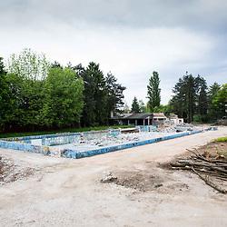 20140511: SLO, Swimming - Reconstruction of swimming pool Kolezija in Ljubljana