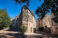 France, Region Centre-Val de Loire, Loiret (45), Orléans, rue des 7 dormants et rue de la Charpenterie // France, Loiret, Orleans, 7 dormant and Charpenterie street