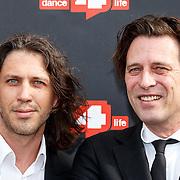 NLD/Amsterdam/20150626 - Dance4life's Funky Fundraiser 2015, Rob van der Wouw en DJ Maestro