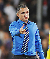 Fotball<br /> England<br /> Foto: Colorsport/Digitalsport<br /> NORWAY ONLY<br /> <br /> Paul Buckle (Torquay Manager) Crystal Palace v Torquay United 11/08/2009 Carling League Cup