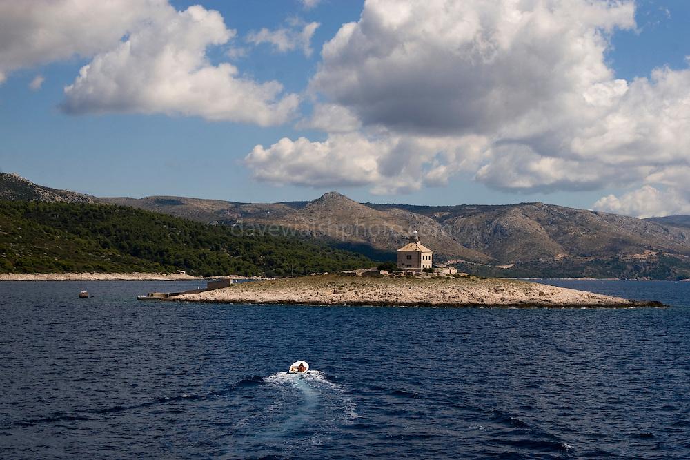 Pokonji Dol island, Hvar, Croatia