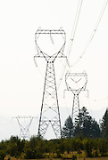 Power lines strung between three towers. Missoula Photographer, Missoula Photographers, Montana Pictures, Montana Photos, Photos of Montana
