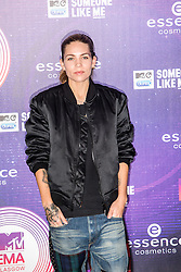 Skylar Grey. Red carpets arrivals at the MTV EMA's 2014 at The Hydro on November 9, 2014 in Glasgow, Scotland.