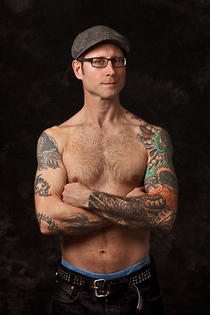 Mike, Tattoo Plus You, A Photo Story of Body Ink