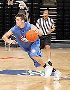 1/2G Andy Burns (Minnetonka, MN / Minnetonka) moves the ball during the NBA Top 100 Camp held Friday June 22, 2007 at the John Paul Jones arena in Charlottesville, Va. (Photo/Andrew Shurtleff)