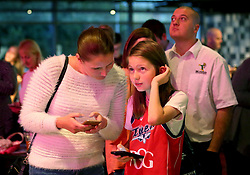 Fans take part in an interactive quiz during the Bristol Flyers 2017/18 season Launch event at Ashton Gate - Mandatory by-line: Robbie Stephenson/JMP - 11/09/2017 - BASKETBALL - Ashton Gate - Bristol, England - Bristol Flyers 2017/18 Season Launch