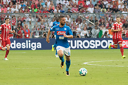 August 2, 2017 - Munich, Germany - Mertens Dries during the Audi Cup 2017 match between SSC Napoli v FC Bayern Muenchen at Allianz Arena on August 2, 2017 in Munich, Germany. (Photo by Paolo Manzo/NurPhoto) (Credit Image: © Paolo Manzo/NurPhoto via ZUMA Press)
