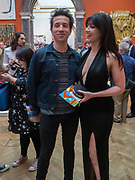 NICK GRIMSHAW; DAISY LOWE, Royal Academy of Arts Summer Party. Burlington House, Piccadilly. London. 7June 2017