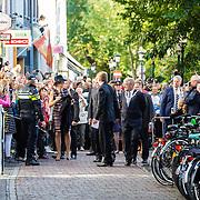 NLD/Utrecht/20161003 - Maxima en Willem-Alexander openen tentoonstelling 'Mapping Australia',