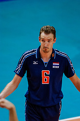30-09-2002 ARG: World Championships Netherlands - Czech Republic, Salta<br /> Richard Schuil<br /> Nederland - Czech 3-2<br /> WORLD CHAMPIONSHIP VOLLEYBALL 2002 ARGENTINA<br /> SALTA / 30-09-2002
