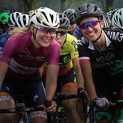 30-08-2017: Wielrennen: Boels Ladies Tour: Arnhem <br />Anna van der Breggen, Kasia Niewiadoma