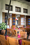 Interior of Restaurant, Yogyakarta, Yogyakarta Special Region, Java, Indonesia, Southeast Asia