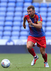 """Crystal Palace's James McArthur during the pre-season friendly match at the Madejski Stadium, Reading. PRESS ASSOCIATION Photo. Picture date: Saturday July 28, 2018. See PA story SOCCER Reading. Photo credit should read: Mark Kerton/PA Wire. RESTRICTIONS: EDITORIAL USE ONLY No use with unauthorised audio, video, data, fixture lists, club/league logos or """"live"""" services. Online in-match use limited to 75 images, no video emulation. No use in betting, games or single club/league/player publications."""