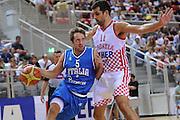 Porec 09 Agosto 2012 - Amichevole Croazia Italia<br /> Nella Foto : DANIELE CAVALIERO<br /> Foto Ciamillo