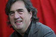 One of Ireland's leading writers, Sebastian Barry, is pictured at the Edinburgh International Book Festival prior to talking about his work. The Edinburgh International Book Festival is the world's largest literary event, with over 500 authors from across the world participating each year and ran from 13-29 August. Edinburgh was named the world's first UNESCO City of Literature in 2004.