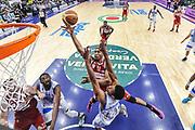 DESCRIZIONE : Campionato 2014/15 Dinamo Banco di Sardegna Sassari - Openjobmetis Varese<br /> GIOCATORE : Stanley Okoye<br /> CATEGORIA : Tiro Penetrazione Special<br /> SQUADRA : Openjobmetis Varese<br /> EVENTO : LegaBasket Serie A Beko 2014/2015<br /> GARA : Dinamo Banco di Sardegna Sassari - Openjobmetis Varese<br /> DATA : 19/04/2015<br /> SPORT : Pallacanestro <br /> AUTORE : Agenzia Ciamillo-Castoria/L.Canu<br /> Predefinita :