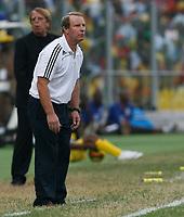 Photo: Steve Bond/Richard Lane Photography.<br />Ghana v Nigeria. Africa Cup of Nations. 03/02/2008. Bertie Vogts follows play
