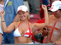 Photo: WROFOTO/Sportsbeat Images.<br />England v Ecuador. 2nd Round, FIFA World Cup 2006. 25/06/2006. <br />England fan.