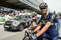 Luka Mezgec (SLO) of Orica - Scott during Stage 2 of 24th Tour of Slovenia 2017 / Tour de Slovenie from Ljubljana to Ljubljana (169,9 km) cycling race on June 16, 2017 in Slovenia. Photo by Vid Ponikvar / Sportida