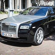 NLD/Hilversum/20140516 - Dj Afrojack voor één dag programmadirecteur Radio 538, Rolls Royce van Afrojack