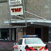 Politieauto bij TMF Bussum na vechtpartij