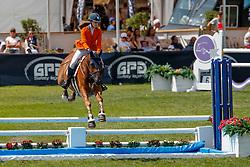 Ter Haar Sanne, NED, Aldhers<br /> European Championship Children, Juniors, Young Riders - Fontainebleau 1028<br /> © Hippo Foto - Dirk Caremans<br /> Ter Haar Sanne, NED, Aldhers