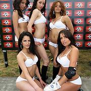 NLD/Amsterdam/20080518 - Opname strafschoppen EK Lingerie, team uit Portugal