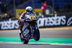 May 18, 2018 - Le Mans, France - 13 ROMANO FENATI (ITA) MARINELLI SNIPERS TEAM (ITA) KALEX MOTO2 (Credit Image: © Panoramic via ZUMA Press)