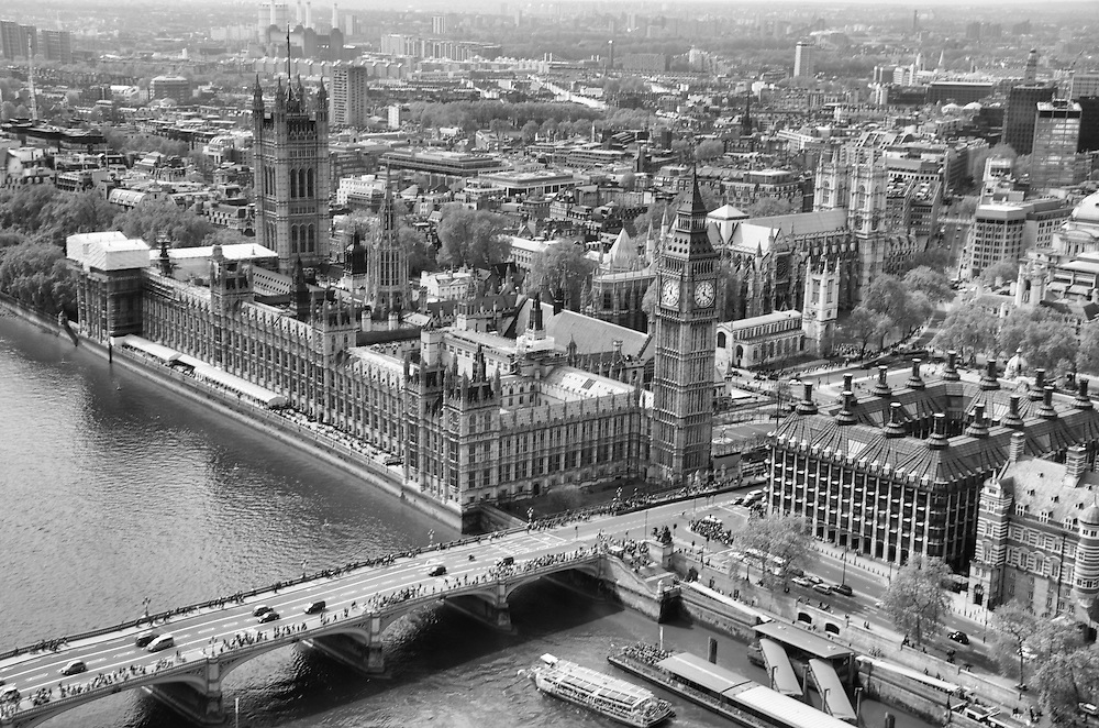 """Big Ben From """"The London Eye"""""""