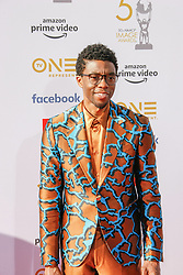 March 30, 2019 - Los Angeles, CA, USA - LOS ANGELES, CA - MAR 29:  Chadwick Boseman attends the 50th NAACP Image Awards Non-Televised Dinner at The Berverly Hilton on March 29 2019 in Beverly Hills CA. Credit: CraSH/imageSPACE/MediaPunch (Credit Image: © Imagespace via ZUMA Wire)