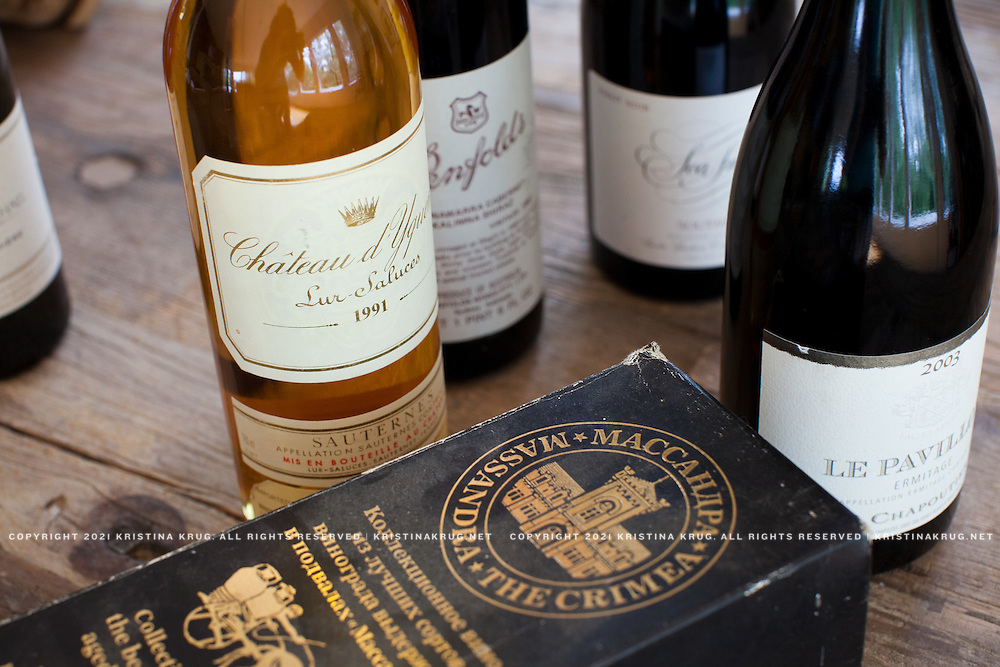 Bottles featured in drummer Nathan Followill's Wine Cellar. Featured in Wine Spectator Magazine.