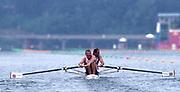 Atlanta, USA. GBR M2-, Gold Medalist, Steve REDGRAVE and Matthew PINSENT, 1996 Olympic Rowing Regatta Lake Lanier, Georgia [Mandatory Credit Peter Spurrier/ Intersport Images]