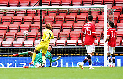 Villarreal's Jorge Pascual Medina scores their side's second goal of the game during the UEFA Youth League, Group F match at Leigh Sports Village, Manchester. Picture date: Wednesday September 29, 2021.