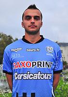 Nicolas SEGUIN - 04.10.2013 - Photo Officielle - Tours -<br /> Photo : Philippe LE BRECH / Icon Sport