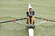 Seville, Andalusia, SPAIN<br /> <br /> 2002 World Rowing Championships - Seville - Spain Sunday 15/09/2002.<br /> <br /> Rio Guadalquiver Rowing course<br /> <br /> ESP LW1X Maria Rivero<br /> <br /> [Mandatory Credit:Peter SPURRIER/Intersport Images]