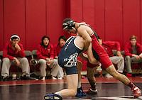 St Paul's School Wrestling versus Belmont Hills.  ©2014 Karen Bobotas Photographer