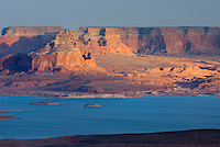 Sunset over Padre Bay and Lake Powell from Alstrom Point, Glen Canyon National Recreation Area Utah