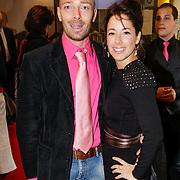 NLD/Leiden/20121021- Premiere Contrapunt,  Suzanne Seegers en partner Bram Blankenstein