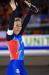 05-01-2003 NED: Europees Kampioenschappen Allround, Heerenveen<br /> 5000 m - Valentina Jaksjina RUS