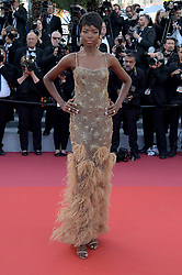 Maria Borges attending the Rocketman premiere, held at the 72nd Cannes Film Festival on May 16, 2019.