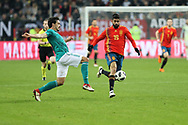 Mats Hummels (Germany) and Diego Costa (Spain) during the International Friendly Game football match between Germany and Spain on march 23, 2018 at Esprit-Arena in Dusseldorf, Germany - Photo Laurent Lairys / ProSportsImages / DPPI