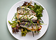 Lupo's sardine tartan with fresh Portugal sardines that are smoked and brined in house.