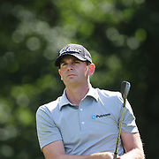 Brendan Steele, USA, in action during the third round of the Travelers Championship at the TPC River Highlands, Cromwell, Connecticut, USA. 21st June 2014. Photo Tim Clayton