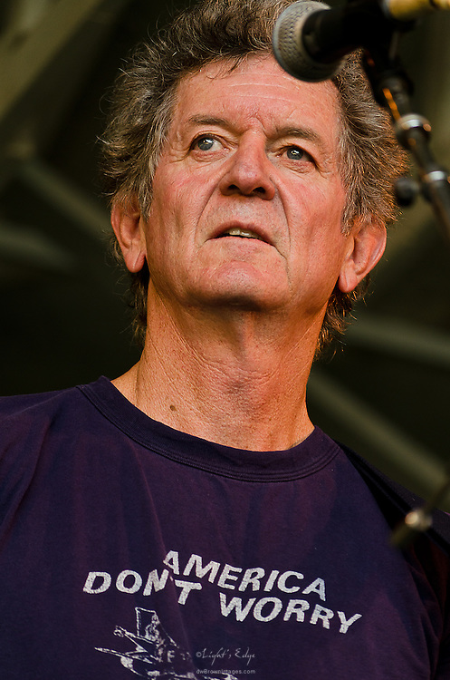 Rodney Crowell performing on The Grove Stage during Appel Farm's 2012 Arts & Music Festival in Elmer, NJ.