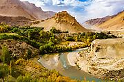 Chehel Burj or forty towers fortress, Yakawlang province, Bamyan, Afghanistan