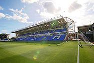 Stadium shot  before the EFL Sky Bet League 1 match between Peterborough United and Portsmouth at London Road, Peterborough, England on 15 September 2018.
